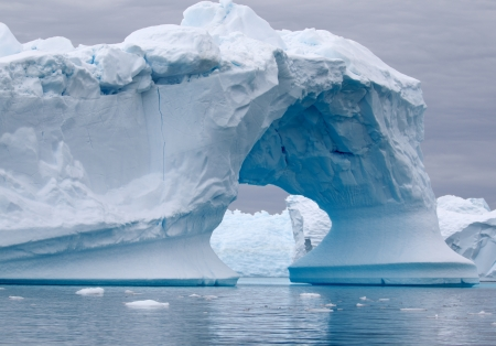 Arch Shaped Iceberg  photo