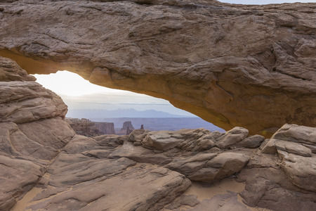 Mesa Arch in Canyonlands National Park near Moab, Utah