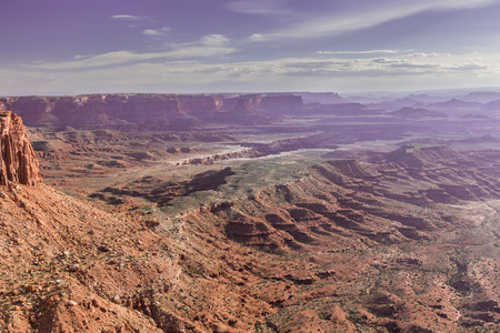 Viewpoint in Island in the Sky District in Canyonlands National Park