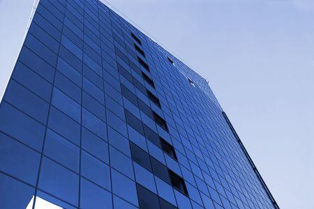 tall dark business center in tallinn city Stock Photo - 2791519