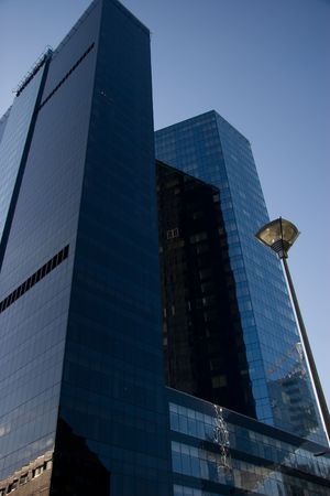 two tall business centers in tallinn city Stock Photo - 2791487
