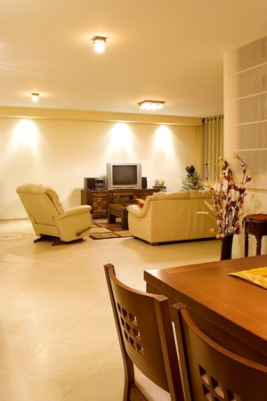 fengshui: living room suite of soft furniture interior feng-shui