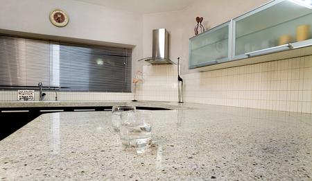The interior of modern kitchen photo