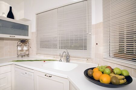 Kitchen white Modern luxury kitchen photo