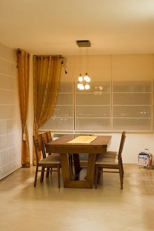 living room dinner table
