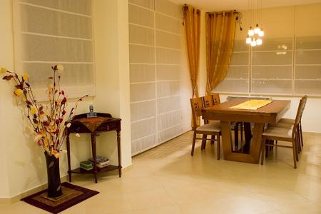 dinner room living room dinner table