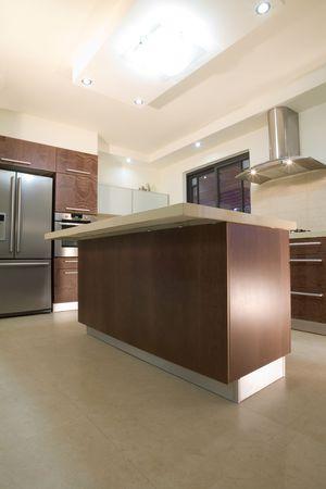 kitchen room modern design Stock Photo
