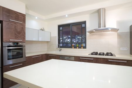expensive granite: The new kitchen room