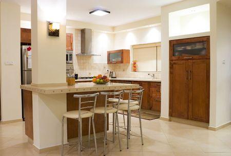 moderm: Kitchen room moderm design