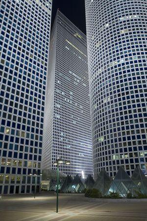 azrieli tower: The night city, Azrieli tower, Tel-Aviv, Israel