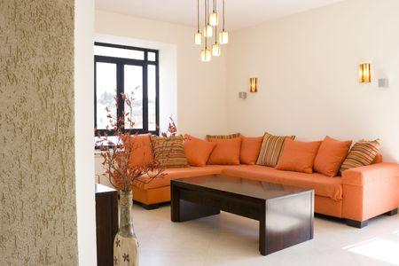 modern furniture set living room in cottage  The living room furniture set