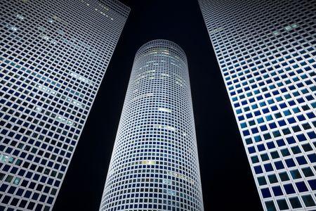 azrieli center: Skyscrapers Stock Photo