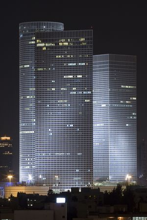 azrieli center: Azrieli tower, Tel Aviv, Israel,