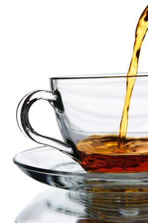 Flowing tea