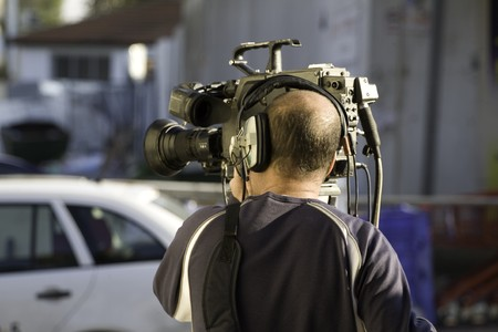 Video operator Stock Photo - 4452725