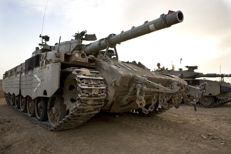 Israeli army armored corp, tank Merkava