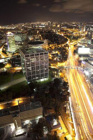 Modern city, Tel Aviv,  Israel photo