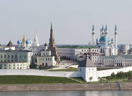 kremlin: Kremlin van Kazan, Suumbike Tower Tatarstan symbool, de Russische Federatie