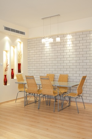 Modern Dining Room Stock Photo - 8311735