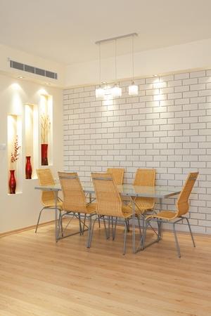 Modern Dining Room Stock Photo - 8311735