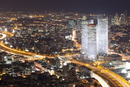 Tel Aviv At Night - Night City