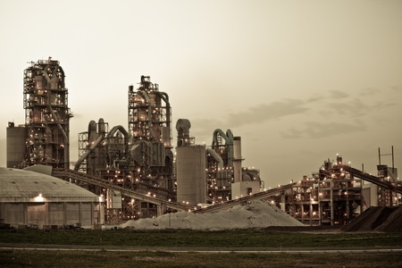 Chemical Plant  Modern factory