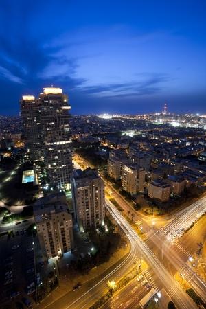 Tel Aviv at sunset, Israel Stock Photo - 9532964