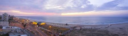 アシュドッド海岸線。Isarel