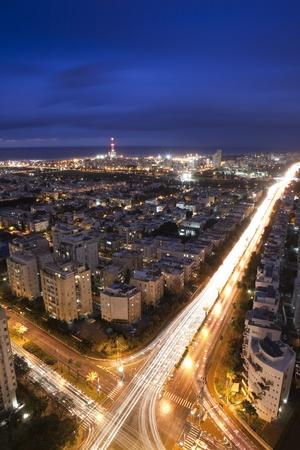 Tel Aviv at sunset, Israel Stock Photo - 9899860