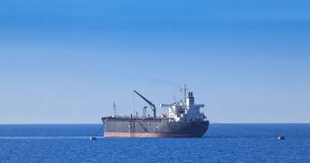 lng: Chemical tanker in harbor Editorial