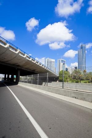 yom kipur: Empty freeway