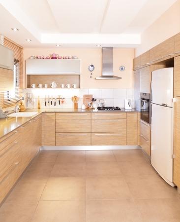 高級キッチンには大理石を使った