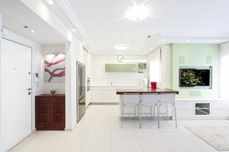 家の入り口のデザイン - モダンなエントリ インテリア 写真素材