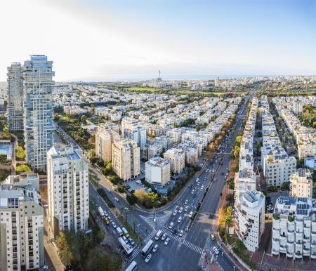 aviv: Tel Aviv at sunset, Israel