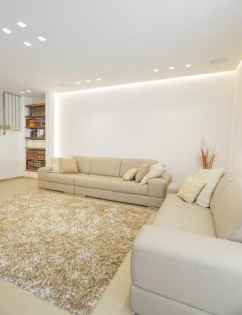 Part Of Luxury Modern Living RoomThis Das Bild wurde aus drei verschiedenen Shots Taken