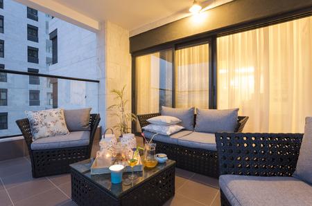 Balcony Interior Design photo