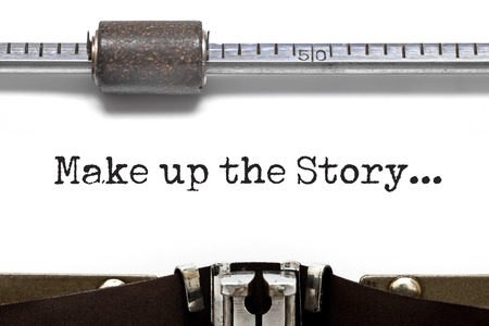 narrate: Make up the Story Typewriter