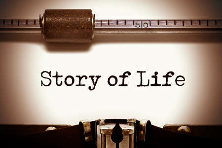 narrate: Story of Life Typewriter