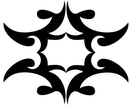fabricate: Vector decorative ornament.