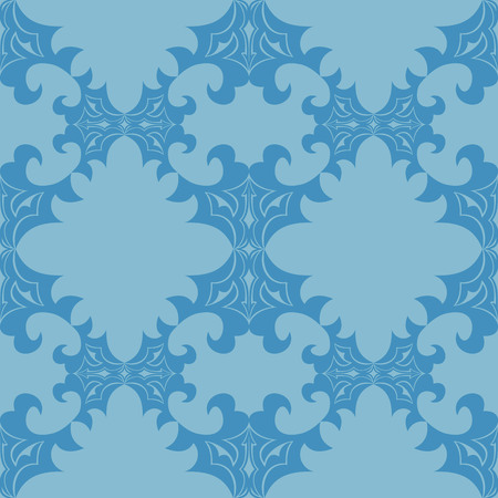 Illustration seamless texture with decorative ornaments.