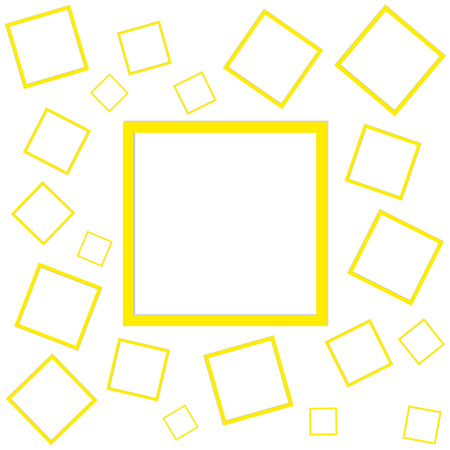 posting: Vector illustration pattern of squares for posting information. Illustration