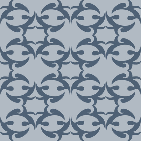 fabricate: Illustration seamless texture with decorative ornaments.