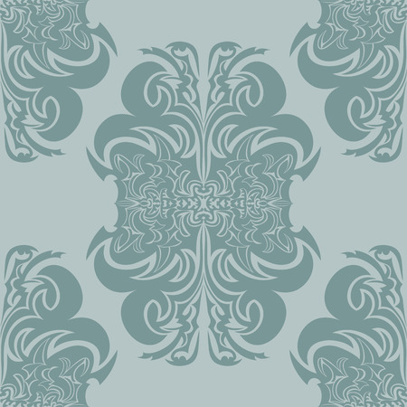 Seamless texture with decorative ornaments. Illustration