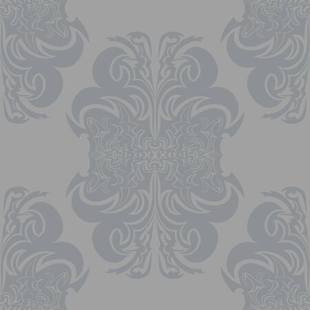 incarnation: Seamless texture with decorative ornaments. Illustration