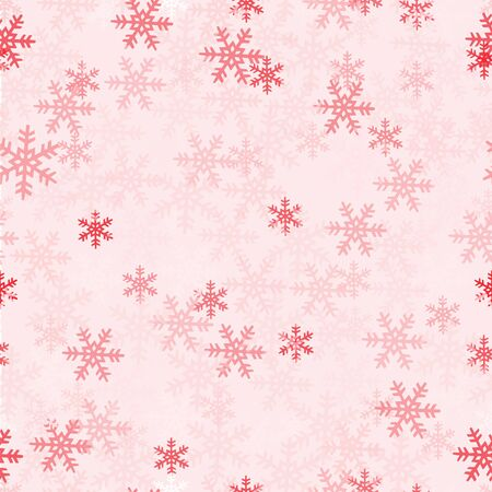 lots: Vector texture with lots of snowflakes.