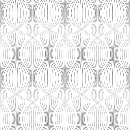 voluminous: Vector illustration of a seamless texture with lots of bands arranged so as to create voluminous effect.