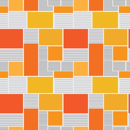 unreadable: Vector illustration seamless texture newspaper.