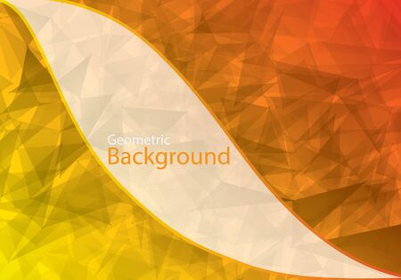 in insert: Stock Vector Polygon background. Template to insert text. Illustration