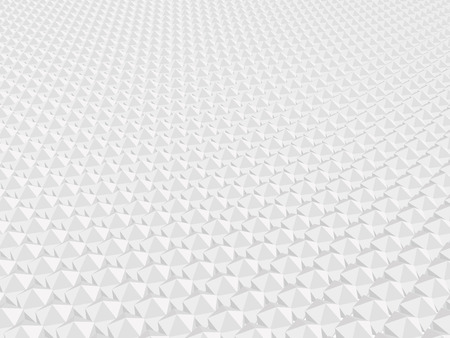 Background with geometric shapes. Polygonal figures in a row. 3D. Vector illustration. Ilustração