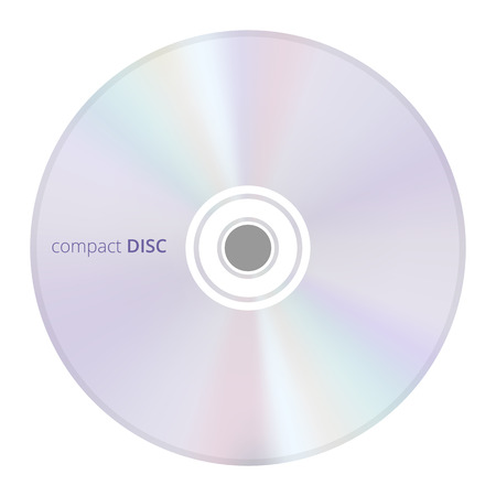 illustration of a CD  compact disc